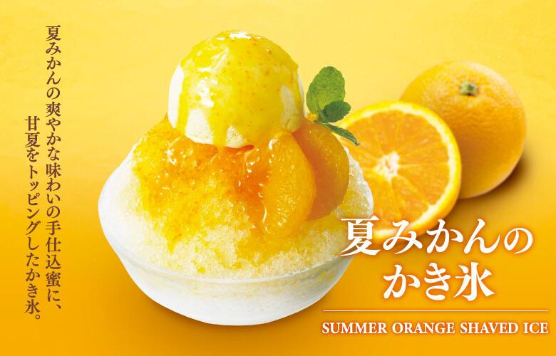<店舗限定>夏みかんのかき氷